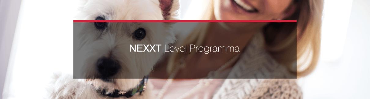 Startpagina voor NEXXT Level van praktijk management software IDEXX Animana